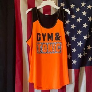 Gym & Tonic Work Out Tank